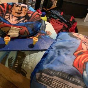Cap rack, sleeping bag, comfortable